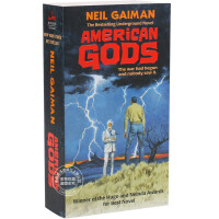 [预售]英文原版 American Gods 美国众神 十周年纪念版 小说