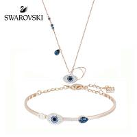 SWAROVSKI/施华洛世奇 恶魔之眼项链+手链组合