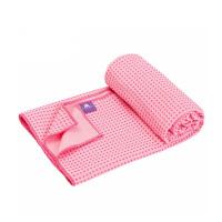 [当当自营]皮尔瑜伽 真密纤维防滑颗粒 瑜伽铺巾粉色