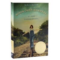 纽伯瑞金奖 阿比琳的夏天 英文原版 Moon Over Manifest儿童文学 获奖作品