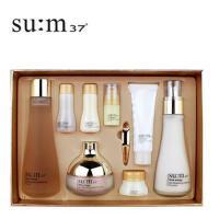 韩国 SU:M37 苏秘 呼吸 37度 化妆品护肤套装 时光能量水乳面霜三件套盒