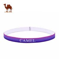 骆驼户外运动头带 瑜伽休闲防滑导汗弹力轻便携带时尚护头带健身