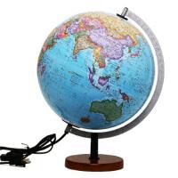 博目地球仪 贝斯马克:30cm中英文政区灯光立体地球仪 9787503033476 北京博目地图制品有限公司 中国地图