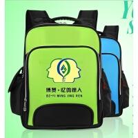 新款幼儿园儿童书包定制小学生培训辅导班学校定做印LOGO印字双肩背包