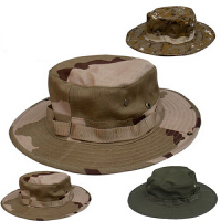 云博迷彩圆边帽特种兵户外奔尼帽军迷帽迷彩帽作训战术圆边帽