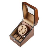 转表器木质摇表器自动手表上链盒机械表晃表器转表器收纳盒 斑马木木色