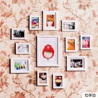 实木照片墙个性小相框组合创意简约相片墙 BK03