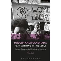 【预订】Modern American Drama: Playwriting in the 1960s: Voices,