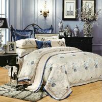 【官方旗舰店】高档古典中式床品四件套欧式别墅床上用品样板房间多六七八十件套
