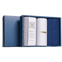 高品质礼盒毛巾套装纯棉洗脸家用柔软全棉吸水小方巾