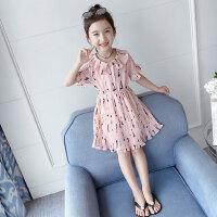 女童连衣裙夏装2019新款儿童夏季雪纺童装裙子女孩韩版洋气公主裙