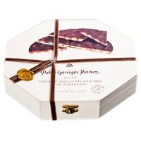 Pablo/巴布洛西班牙进口 扁桃仁巧克力礼盒200g 八角木盒装 婚庆生日礼物 七夕情人节礼盒