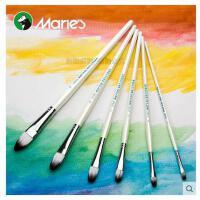 马利牌martol系列圆峰丙烯画笔 6支套装丙烯颜料画笔 G1626