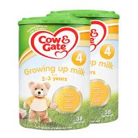【4段】 保税区发货英国Cow&Gate牛栏 婴幼儿奶粉 四段(2-3岁) 800g*2罐 海外购