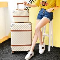 韩版小清新女拉杆箱20寸24寸万向轮复行李箱母学生个性旅行箱