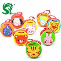 六一儿童礼物 儿童木制响板乐器 动物响板 木质响板 玩具响板 奥尔夫乐器