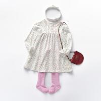 【专区79元4件】罗町春季新品韩版女童连衣裙公主范洋气套装