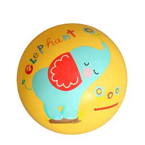 【当当自营】费雪FisherPrice 9寸宝宝拍拍球 婴儿玩具球幼儿园拍拍球玩具皮球(送打气筒)-黄F0516-3