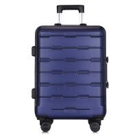 拉杆箱万向轮20寸多功能静音托运登机箱abs铝框商务旅行李箱可商务