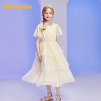 【1件7折价:160.93】巴拉巴拉女童裙子儿童连衣裙2020新款夏装大童公主裙网纱蛋糕裙女