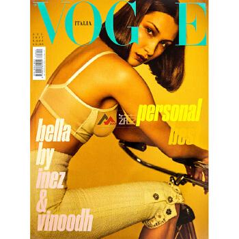 意大利VOGUE ITALIA杂志 订阅2020年 F34 服饰美容时尚服装摄影模特杂志 全年12期 分期寄出 发货短信提醒