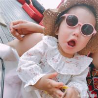 女宝宝碎花T恤春夏款薄款长袖打底衫婴童装纯棉公主上衣