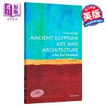 【中商原版】古埃及艺术和建筑(牛津通识读本) 英文原版 艺术 Ancient Egyptian Art and Arc