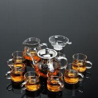 耐热玻璃茶具套装整套茶盘泡茶用具家用办公功夫茶具普洱花茶杯子