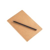 A5学生笔记本方格网格点阵横线本子办公60页厚100g日记本牛皮纸