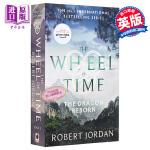 【中商原版】Wheel of Time #3:The Dragon Reborn 英文原版 英文小说 科幻小说 时光之