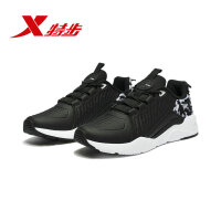 特步运动鞋男2018冬季新款正品棉鞋运动休闲鞋跑步鞋982419326795
