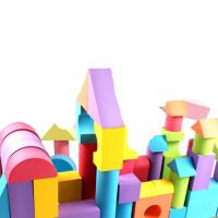 eva泡沫积木大号软体拼搭积木幼儿园益智儿童玩具3-6周岁
