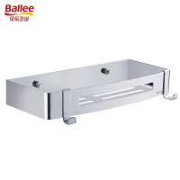 贝乐卫浴(Ballee)TL701 免打孔置物架卫生间收纳架304不锈钢网篮方形