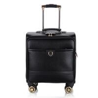 拉杆箱万向轮新款休闲旅行箱18寸商务行李箱登机箱包可商务 18寸
