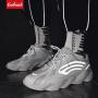 【领券立减50元】Coolmuch男跑鞋2019新款男子轻便缓震透气夜跑反光运动休闲潮鞋YG064