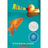 【中商原版】规则 纽伯瑞银奖 英文原版 Rules Cynthia Lord 学乐儿童小说