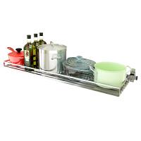 厨房壁挂碗碟架沥水架304不锈钢置物架 可折叠层架调味品收纳架子