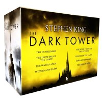 【中商原版】黑暗塔系列全8册 英文原版 英文小说 Dark Tower 1-8 Stephen King 斯蒂芬金小说 系列 奇幻惊悚小说 魔幻史诗 枪侠 穿过锁孔的风