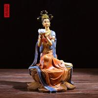 中式摆件家居饰品玄关客厅禅意酒柜书房博古架工艺品软装 家庭摆设