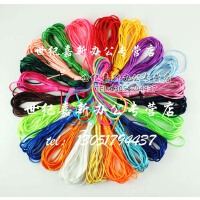 22个色随便选择 DIY手工材料 首饰配件 中国结线 手链编织绳 2.5mm 饰品绳 一根多种颜色 多彩中国结线 DI