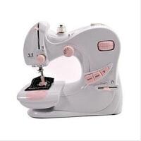 小型电动缝纫机/家用多功能缝纫机-601双针电动带锁边多功能吃厚车