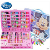 迪士尼米奇米妮儿童文具礼盒绘画套装美劳派72件90件128件水彩笔