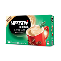 [当当自营] 雀巢咖啡 2合1无蔗糖添加30条 330g