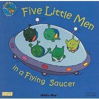 【现货】英文原版 五个飞碟上的小人 Five Little Men in a Flying Saucer 纸板洞洞书无