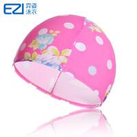 弈姿EZI儿童彩色泳帽 浴帽 男童女童 8005