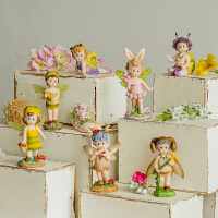 欧式花仙子创意卧室客厅儿童房间装饰品家居小摆件可爱送女生礼品