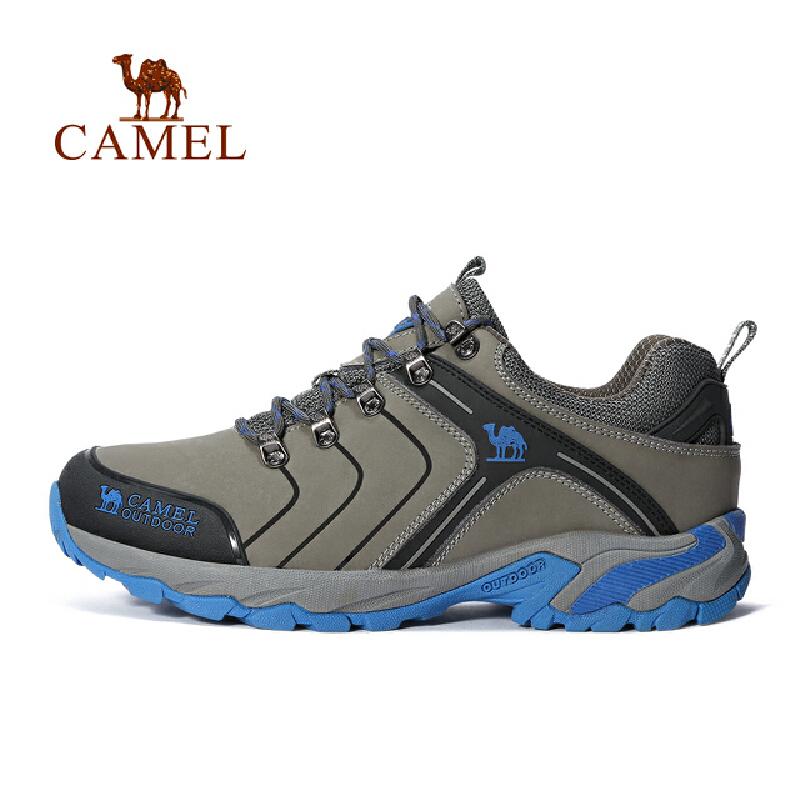 camel骆驼户外情侣徒步鞋 男女款耐磨减震登山徒步鞋官方正品,七天无理由退换货,59元起包邮
