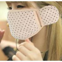 耀点100 秋冬季可爱卡通二合一连体护耳口罩耳罩 粉色卡通*