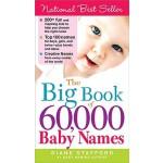 【预订】The Big Book of 60,000 Baby Names