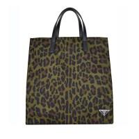PRADA/普拉达 男士绿色斑点织物手提单肩包 2VG905 2EXD F0161 支持礼品卡支付